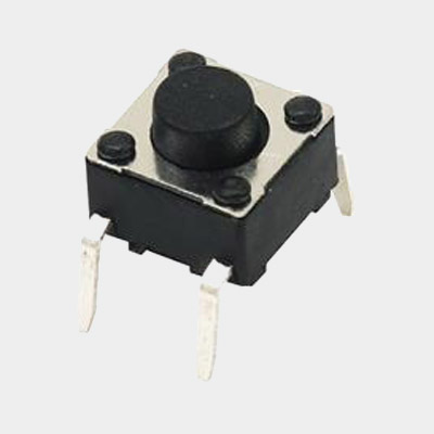 TS66HM Straight Inserting-Terminal Tact Switch